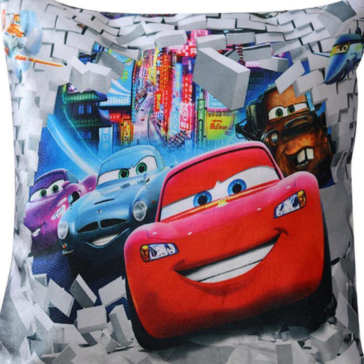 The Cars Printed Cushion - Cotton Passion