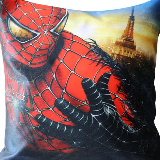 Spiderman Printed Cushion - Cotton Passion