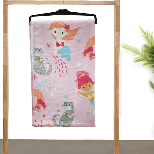 Mermaid Soft Kids Towel - Cotton Passion