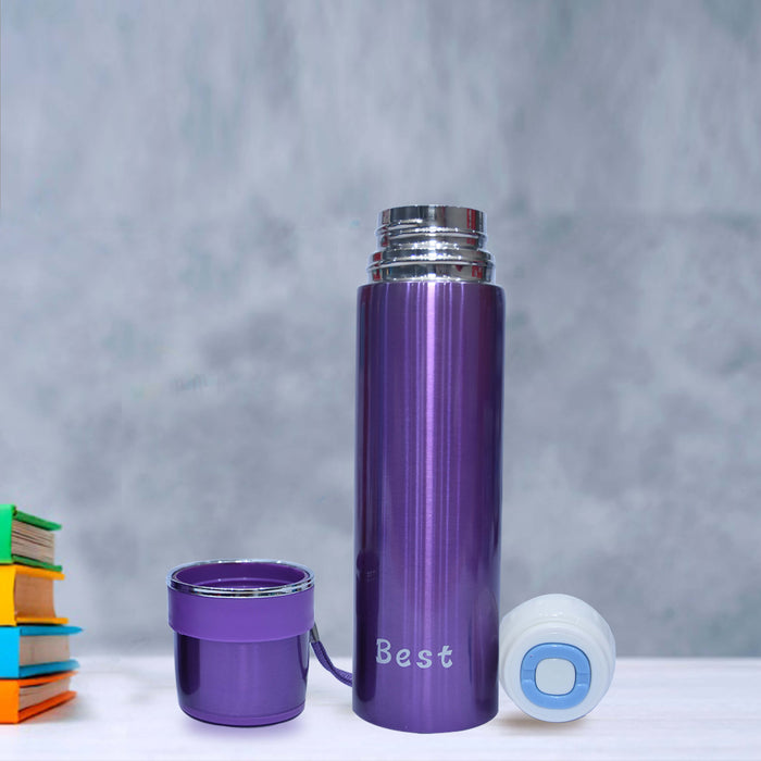 Best Stainless Steel Thermos Water Bottle with Cup Cap