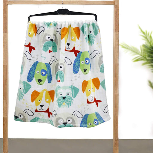 A Group of Puppies Kids Soft Towel - Cotton Passion