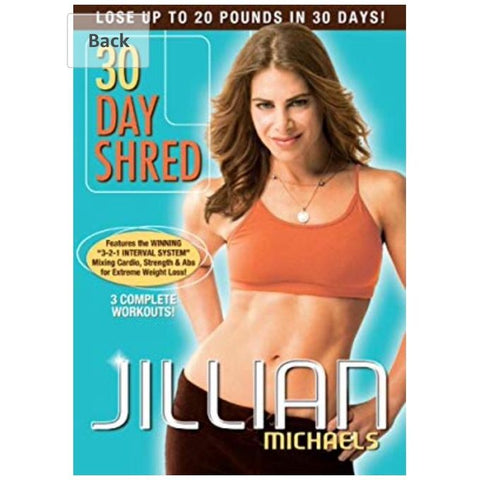30 day Shred By Jillian Micheals