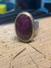 Load image into Gallery viewer, Ruby Sapphire Ring