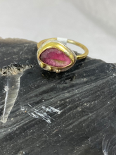 Load image into Gallery viewer, Stacker Ring-Pink Tourmaline