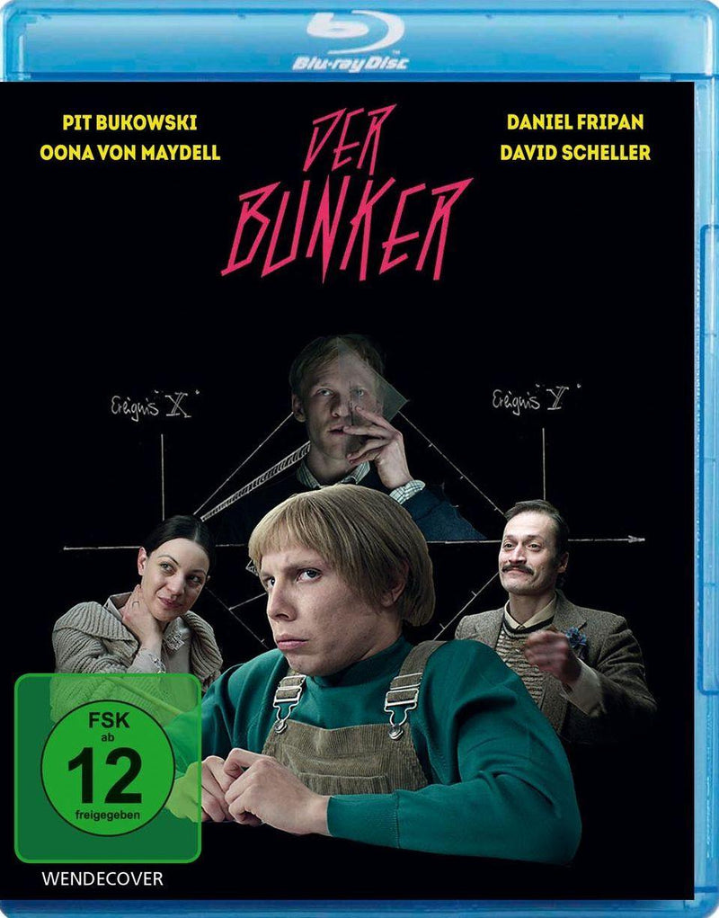 Der Bunker - Budget Blu-ray Cover