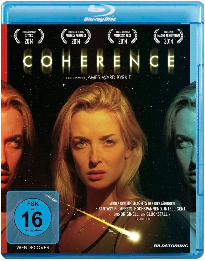 Coherence - Budget Blu-ray Cover