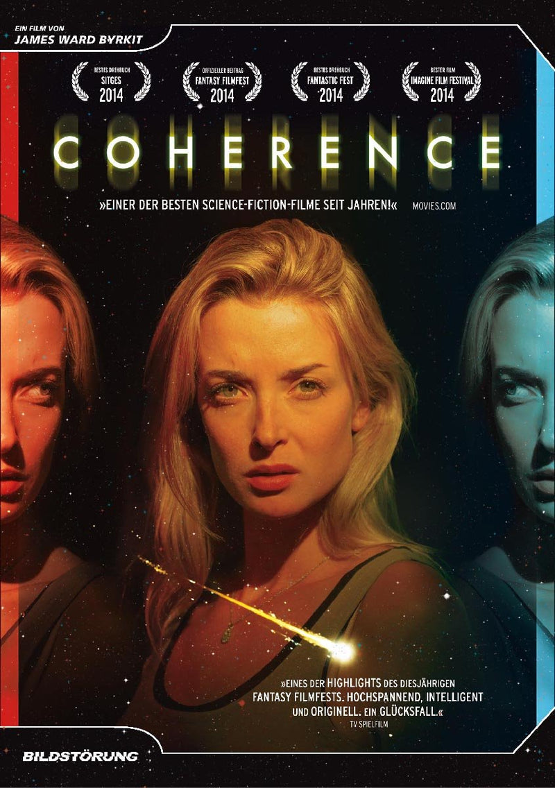 Coherence - DVD Cover