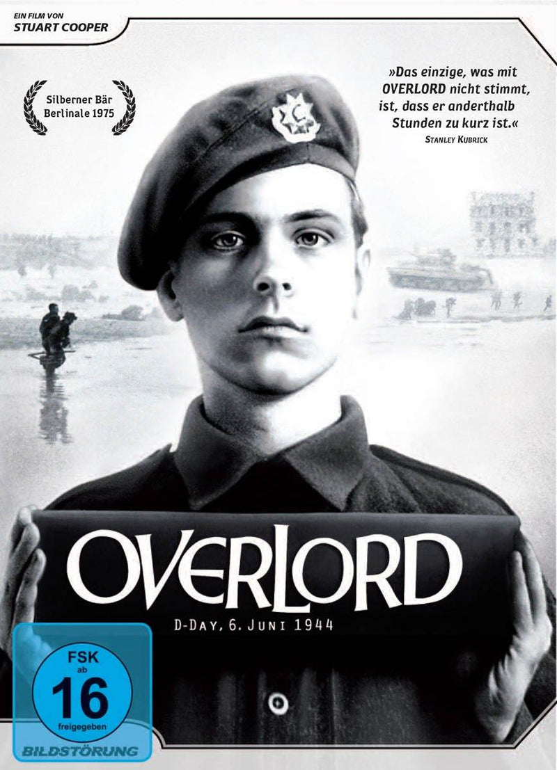Overlord - DVD Cover mit FSK