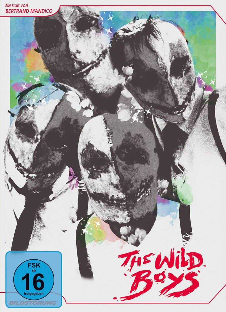 The Wild Boys - DVD Cover mit FSK