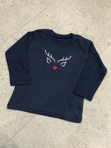 Children's Reindeer Christmas T-shirt