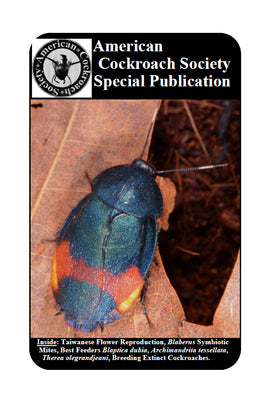 American Cockroach Society Special Publication 2