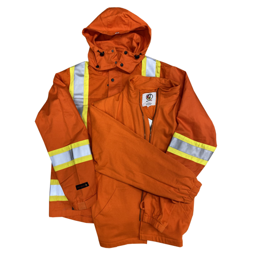 3 in 1 Fire Resistant Hi Vis Insulated Parka