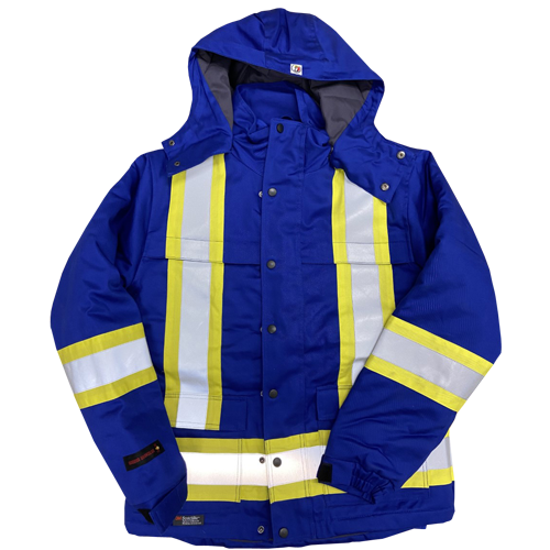 Fire Resistant Hi Vis Insulated Parka