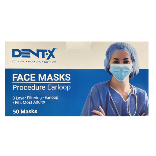 DENTX Level 3 Face Masks (50 per box)