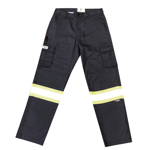 Fire Resistant Hi-Vis Grey Pants