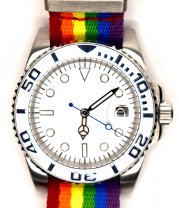 Rainbow - Submariner Homage Watch