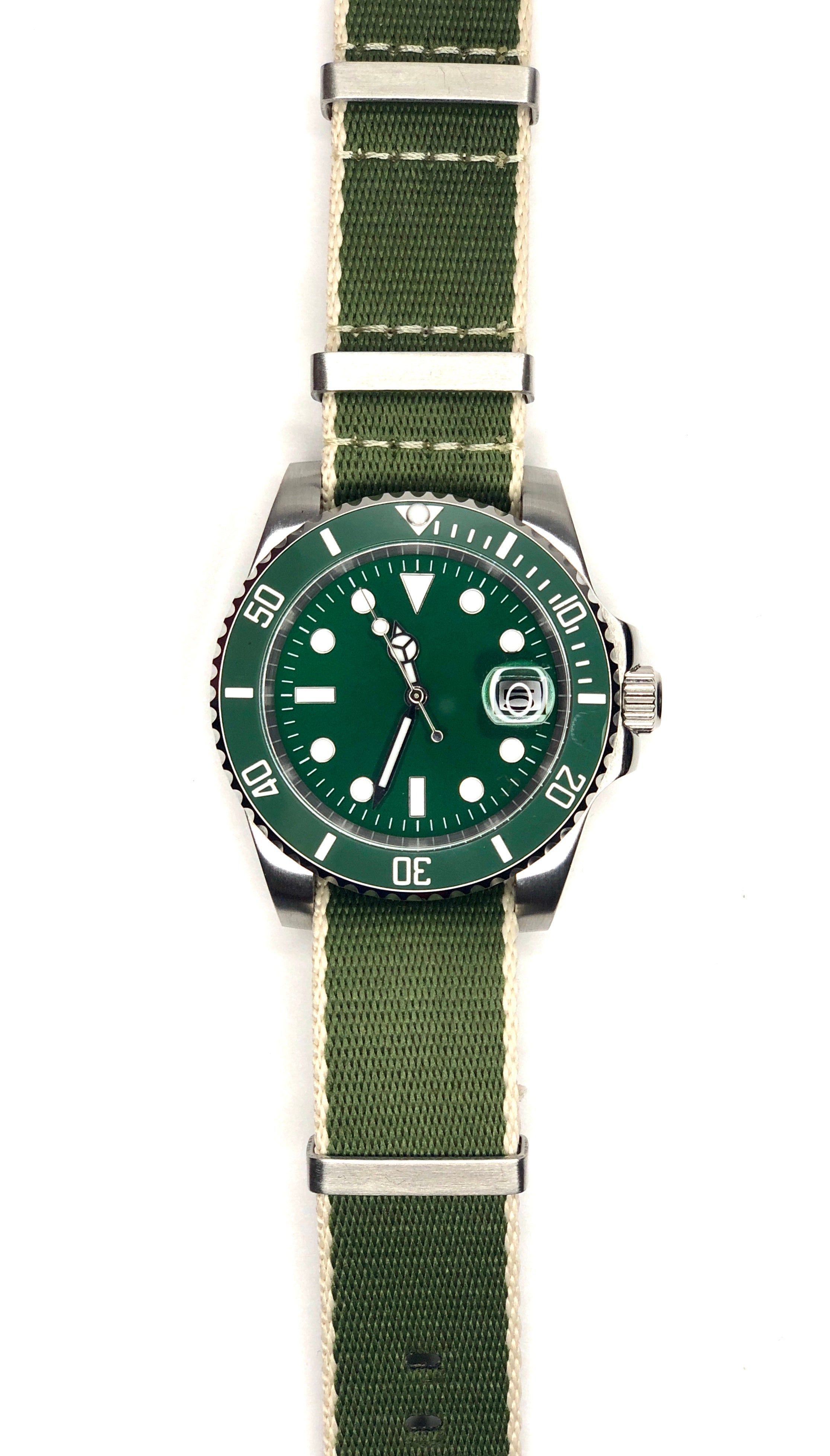 Army - Submariner Homage Watch