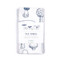 Load image into Gallery viewer, Printed Tea Towel | Mushroom