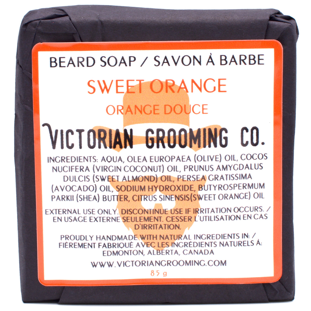 Beard Soap | Sweet Orange