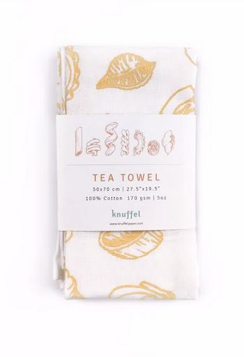 Printed Tea Towel | Pasta