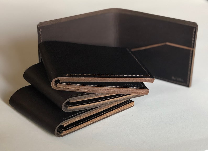Genuine Leather Minimalist Wallet