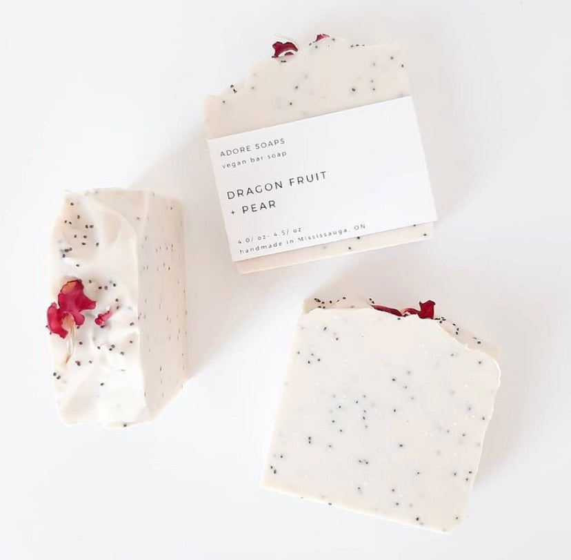 Handcrafted Soap Bar | Dragon Fruit & Pear