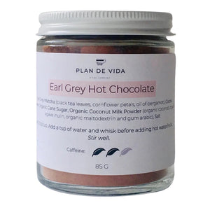 Earl Grey Tea Infused Hot Chocolate