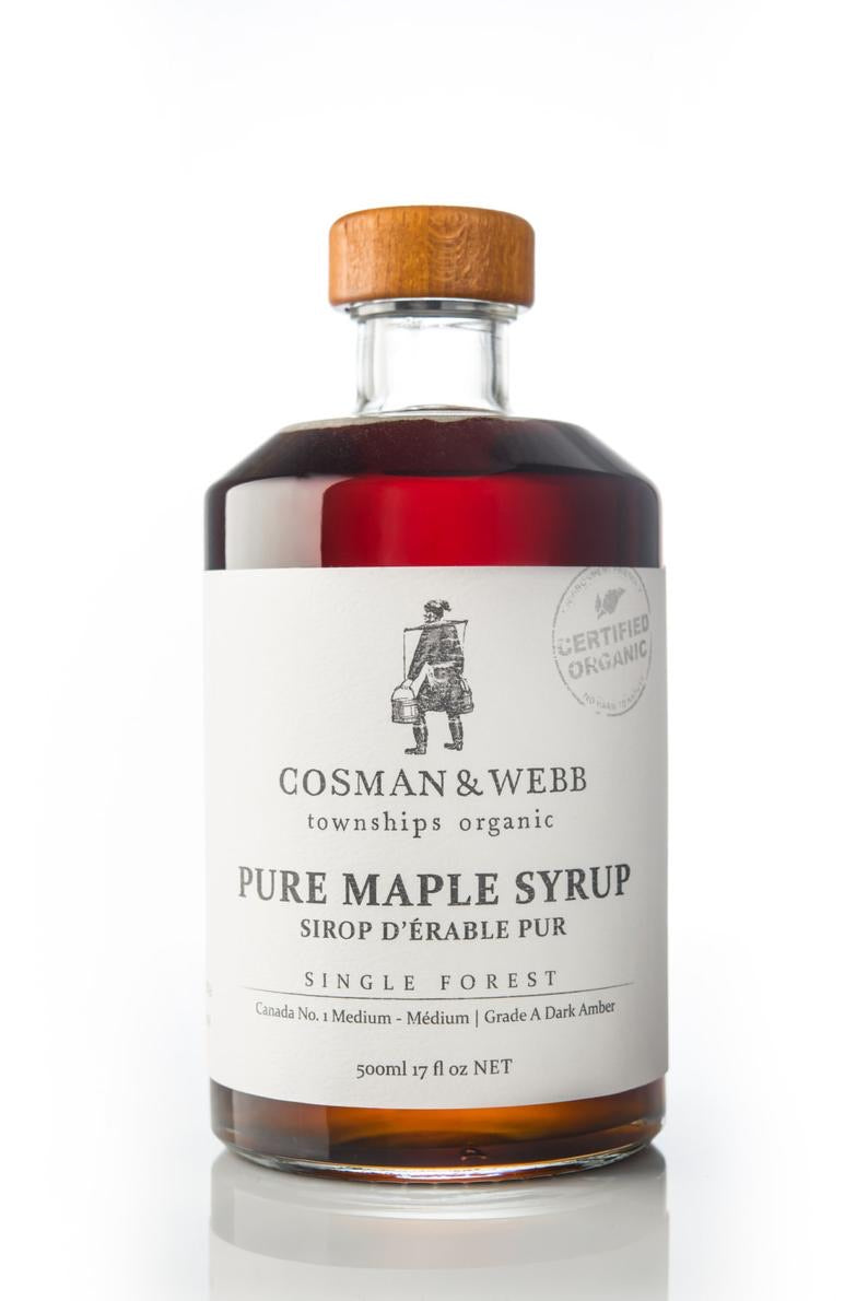 Pure Organic Maple Syrup