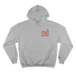 Champion Hoodie Make Wave Not War with Alien  チャンピオン:ユニセックス MWNW エイリアンパーカー