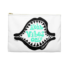 Load image into Gallery viewer, Accessory Pouch - shark- Aloha Vibes Only -