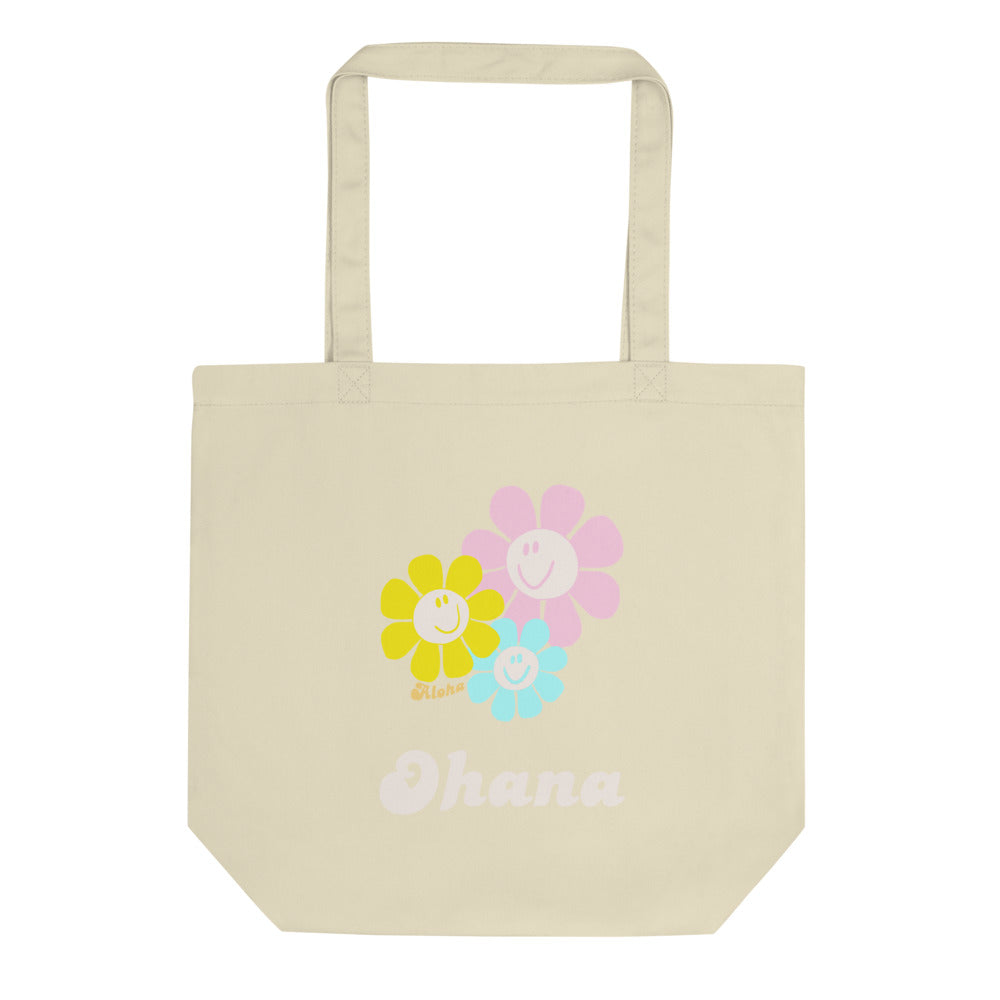Eco Tote Bag Pastel Smile  パステルスマイリー トートバック(S)