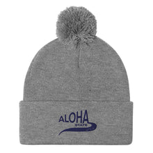 Load image into Gallery viewer, Pom-Pom Beanie  ポンポンニット帽 Aloha STATE