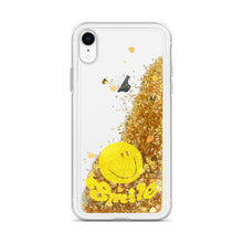 Load image into Gallery viewer, Liquid Glitter Phone Case  スマホケース スマイリーフェース