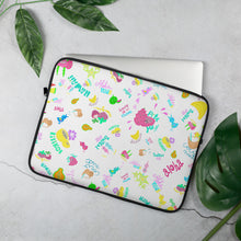 Load image into Gallery viewer, Laptop Sleeve Tropical fruit  トロピカルフルーツ ラップトップスリーブ