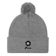 Load image into Gallery viewer, Pom-Pom Beanie Peace ニット帽 ピース