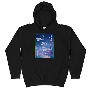 Kids Hoodie  Give me space 宇宙 ユニセックスパーカー