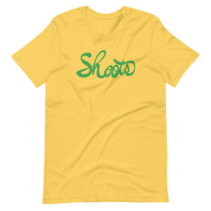 Short-Sleeve Unisex T-Shirt SHOOTS Green ユニセックスTシャツ Shoots green
