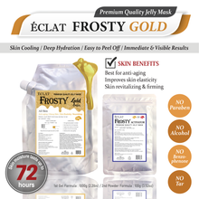 Load image into Gallery viewer, ÉCLAT FROSTY Jelly Mask- Gold Wrinkle Care