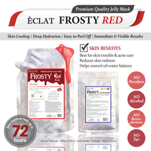 Load image into Gallery viewer, [SOLD OUT] ÉCLAT FROSTY Jelly Mask- Red Acne Care