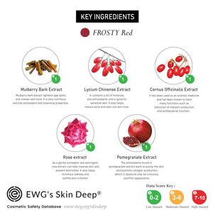 ÉCLAT FROSTY Jelly Mask- Red Acne Care