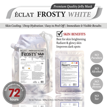 Load image into Gallery viewer, ÉCLAT FROSTY Jelly Mask- White Radiant