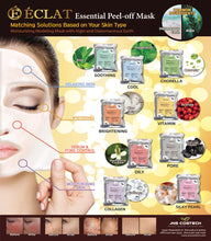 Load image into Gallery viewer, Eclat 20's Modeling Peel off Facial Mask Powder- Charcoal