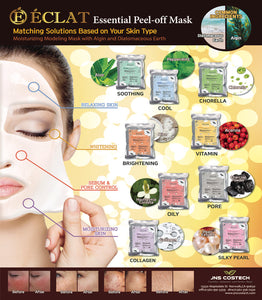 Eclat 20's Modeling Peel off Facial Mask Powder- Cooling