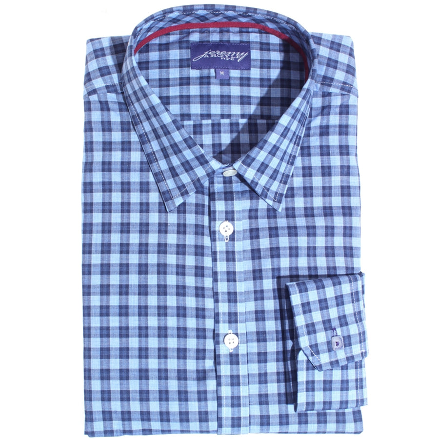 Hyde Light Blue Plaid