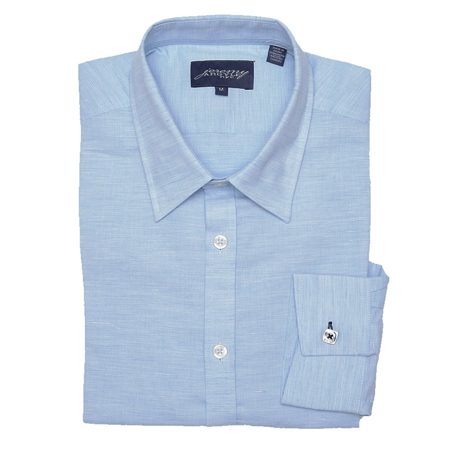 Cooper Heather Blue Button Down