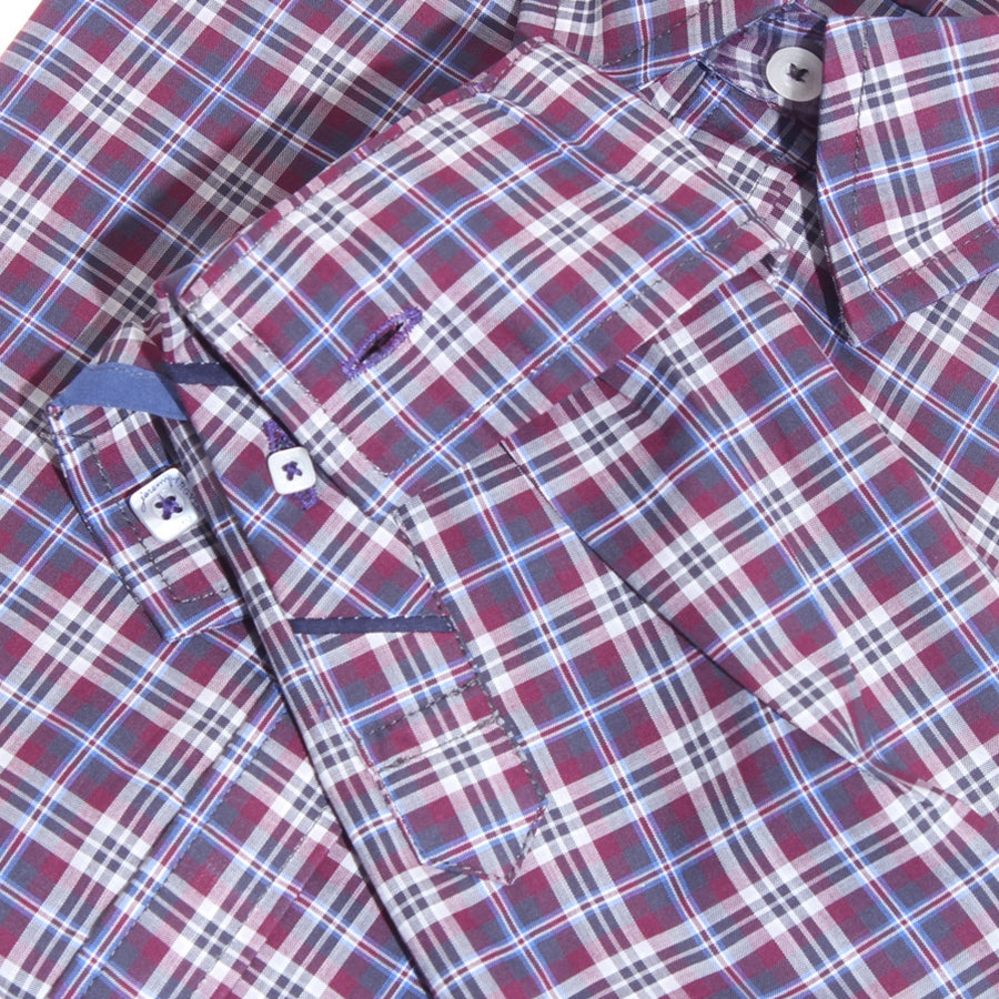 Madison Red and Blue Plaid