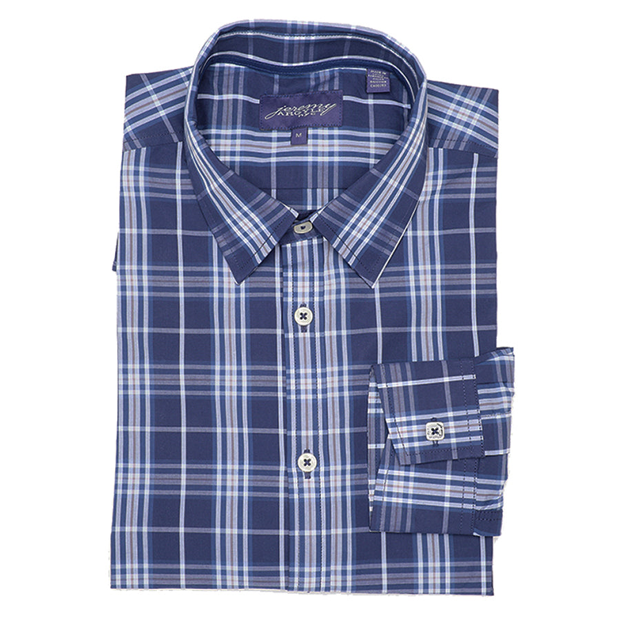 Century Blue Plaid