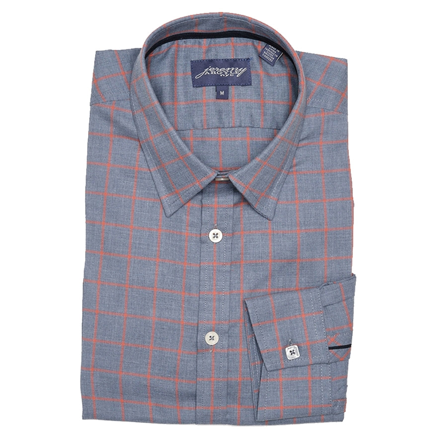Flatiron Chambray Check