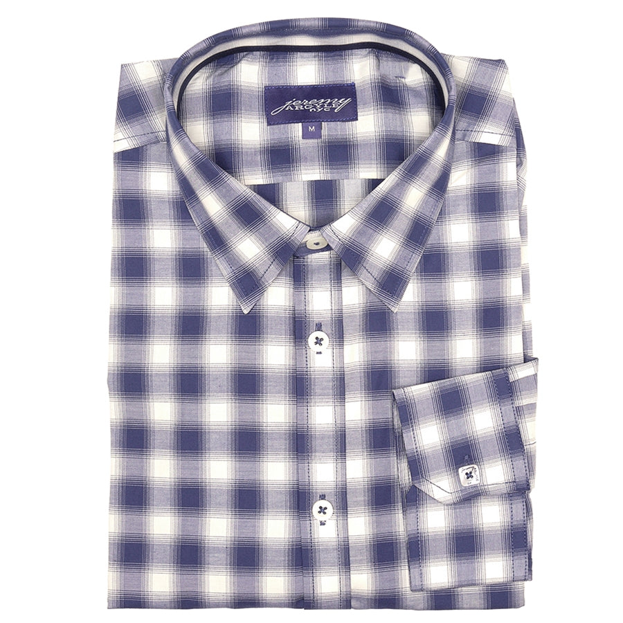 Jones Blue Plaid