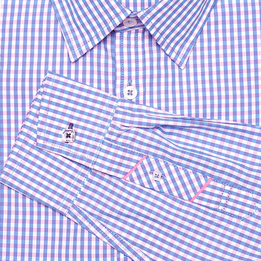 Lenox Light Blue Gingham